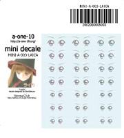 MINI-A-003-LAICA ミニデカール ライカ